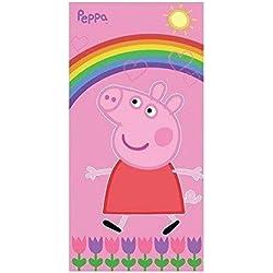 Lisciani Giochi - Telo Mare Peppa Pig, Rosa