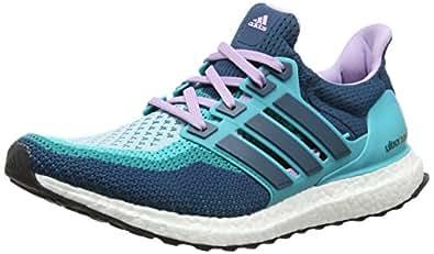 adidas Ultra Boost, Women's Running Shoes, Verde / Morado (Vertra / Minera / Brimor), 5 UK