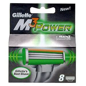 Gillette Mach3 Power pack de 8 lames