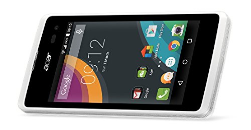 'ACER Z220-Smartphone 4(1.2GHz, 1GB RAM, 8GB Speicher) weiß