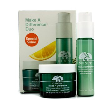 Origins Make A Difference Duo: Skin Rejuvenating Moisturizer 50ml +