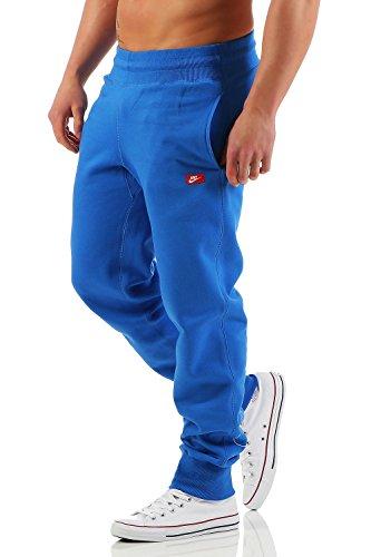 Nike Ace Fleece Cuffed Herren Trainingshose Farbe: Blau; Größe: S