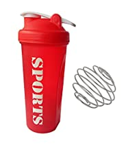 Foreign Holics Classic Loop Top Shaker Bottle for Boys and Girls While Gym Workout (600 ML - Multicolored)