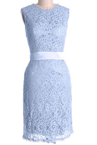 MACloth - Robe - Crayon - Sans Manche - Femme Cielo azul