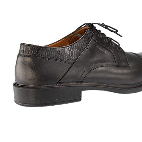 JOMOS 206210 272 Herren Derby Schnürhalbschuhe - Schuhe in Übergrößen Schwarz