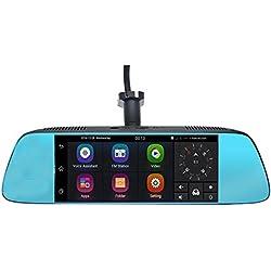 "Boomboost A7 DVR 7 ""espejo espejo espejo retrovisor DVR coche DVRs Android 5.0 con GPS de navegación Automoblie Video Recorder Dash Cam Coche DVR"