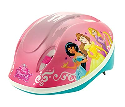 Disney Princess Girls Safety Helmet, Purple, 48-54cm from MV Sports & Leisure