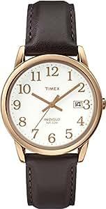 Timex - T2P563 - Montre Homme - Quartz - Analogique - Bracelet Cuir Marron