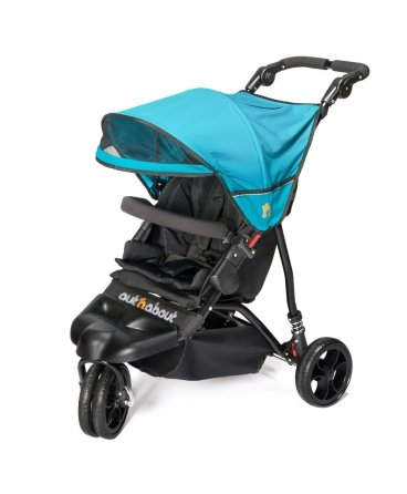 Out n About LITTLE NIPPER Lightweight Urban Baby Pushchair (Marine Blue)