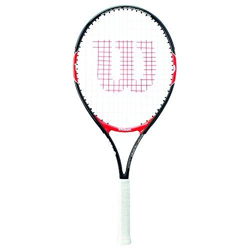 Wilson Roger Federer Raqueta, Unisex Niños, Rojo (Red/Black), 26