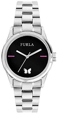 FURLA Reloj Analógico para Mujer de Cuarzo con Correa en Acero Inoxidable R4253101530 de FURLA