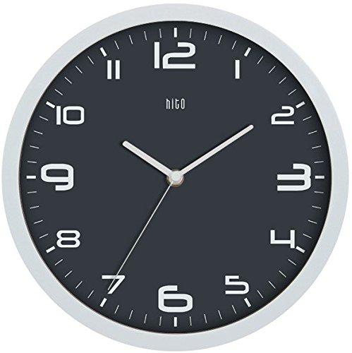 Hito moderno Colorful Silencioso, sin tic tac pared Clock- 10pulgad