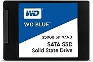 """الأزرق WD 250 جيجابايت ناندو 3D SATA الثالث 6 جيجابت/الثانية 2.5 بوصة """"SSD الداخلية مم 7-WDS250"""