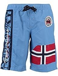 Geographical Norway - Maillot de Bain Garçon Geographical Norway Quemen Bleu