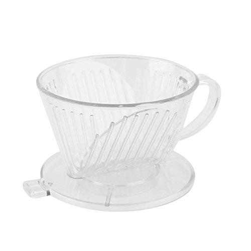 Preisvergleich Produktbild Jasnyfall PP-Harz-Kaffee-Filter-Schalen-Tropfenfänger-Kaffeefilter-manuell follikularer Filter