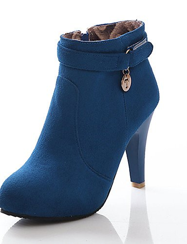 ShangYi Mode Frauen Schuhe Damen Stiefel Frühjahr / Herbst / Winter / Mode / Schuhe Heels Stiefel Kunstleder / Casual Stilettabsatz Andere Rot