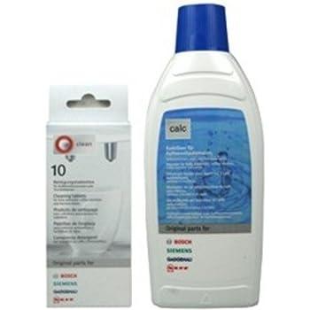 Amazon.de: Bosch/Siemens 311138 Entkalker, Inhalt-500 ml