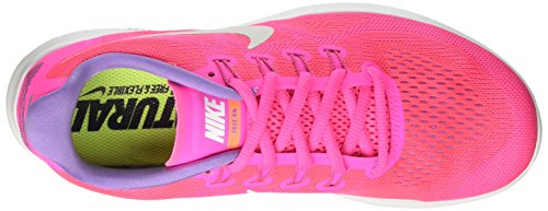 Nike Wmns Free RN 2017, Scarpe Running Donna Rosa (Rose Coureur/explosion Rose/mangue Brillant/blanc Cassé)