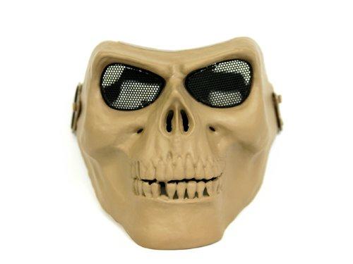 Preisvergleich Produktbild Cosplay and (khaki) survival game M02 Cacique type skull mask Khaki!] Fear into opponents]! (japan import)