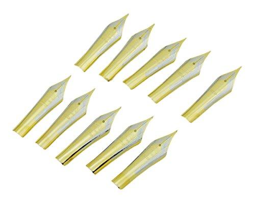 10pcs Jinhao pluma puntas de recambio para Jinhao 450, 750, 159, dragón hijos y doble dragón pluma estilográfica