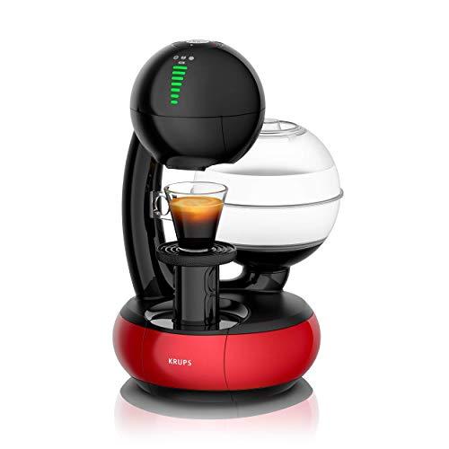 � Dolce Gusto Esperta Kaffeekapselmaschine (1500 Watt, Wassertankkapazität: 1,4l, Pumpendruck: 15 Bar) schwarz/rot ()