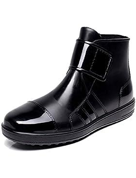 Damen Herren Gummistiefel Regenstiefel Kurzstiefel Kurzschaft Regen Boots
