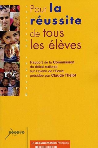 Ministere De L Education Nationale - Pour la réussite de tous les élèves