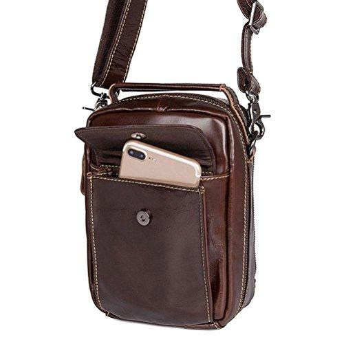 821e069abe016 ... GTUKO JMD Tasche Hohe Qualität Messenger Bags Mode Schultertasche  Kleine Handy Männer Tasche Aus Echtem Leder