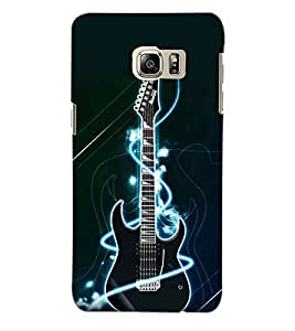 ColourCraft Guitar Back Case Cover for SAMSUNG GALAXY NOTE 5 EDGE