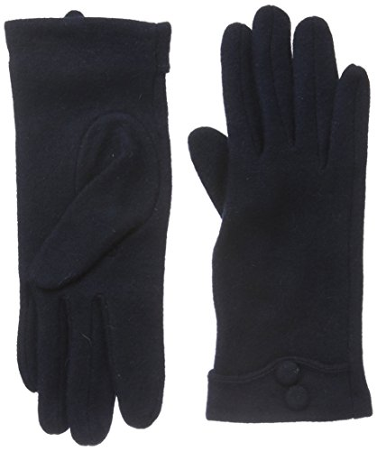 nümph Dea-Roma Wool Gloves, Guanti Donna, Blau (Salute), Medium