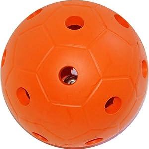 Balls R Us BRU0274 - Bola con Campana, Color Naranja