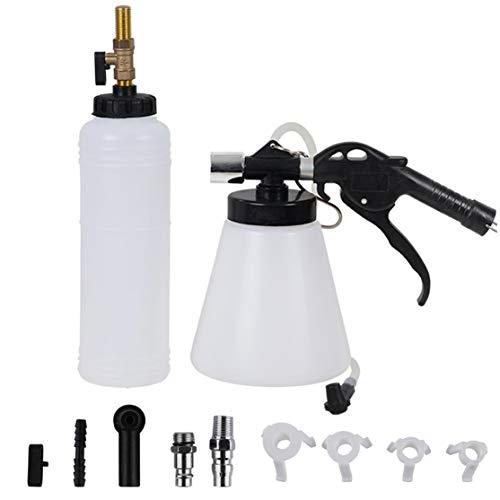 Attrezzo per la Sostituzione del Liquido per Freno Auto Car. 1L Kit per Cambio Olio lubrificante a Grande capacità per Cambio Olio per Veicoli (Colore: Bianco e Nero)