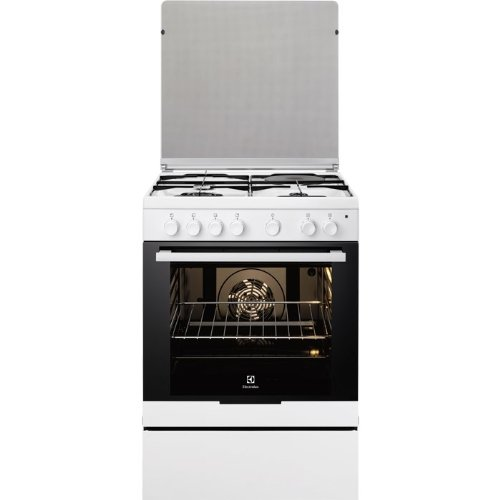 Electrolux EKM6130AOW cuisinière - fours et cuisinières (Autonome, Electrique, Combiné, Verre, A-20%, Blanc)