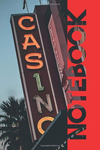 Notebook: Las Vegas Casino Elegant Composition Book for Gambling Probability and Statistics por Molly Elodie Rose