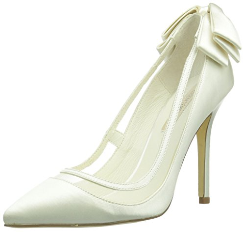 Menbur Wedding Lua, Damen Pumps, Elfenbein (Ivory), 39 EU
