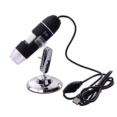 XCSOURCE TE71 Microscope endoscope numérique 8 LED USB 3D à