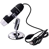 Microscopio Digital Port¨¢til USB Aumento x1000 XCSOURCE C¨¢mara 2MP Endoscopio Lupa Captura Videos Im¨¢genes para Observar Estampillas, Monedas Insectos, Joyas
