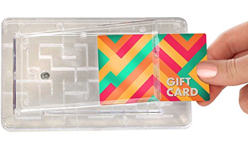 Gift Card Maze by TechTools - Brain Teasing Maze For Cash or Gift Cards - Fun Challenge Present Holder