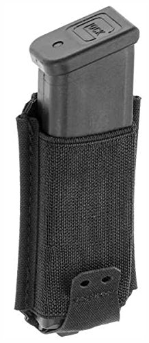 Claw Gear 9mm Low Profile Mag Pouch Schwarz, Schwarz (Mm 9 Pouch Mag)