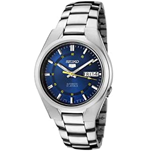 Seiko Men's Analogue Automatic Watch with Stainless Steel Bracelet – SNK615K1