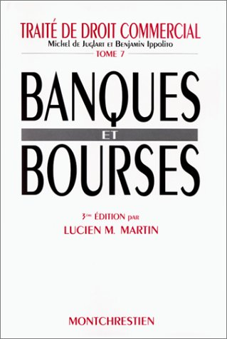 Banques et bourses, 3e édition