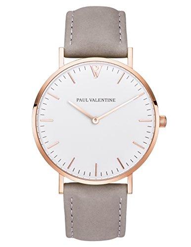 paul-valentine-armbanduhr-marina-rose-gold-grau-damen-uhr-mit-elegantem-zeitlosen-design-und-grauem-