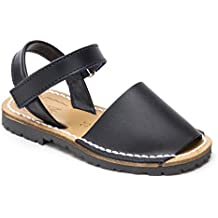 Sandalias Menorquinas Velcro Marino