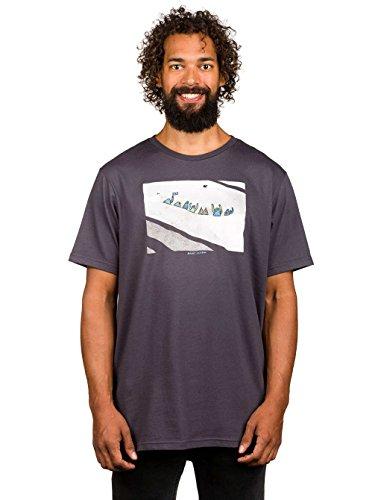 Herren T-Shirt Billabong Lb-Mountain T-Shirt Asphalt