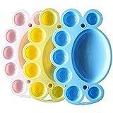 honeysuck Nail Art plato para pintura paleta de mezcla de colores uñas herramienta (rosa)