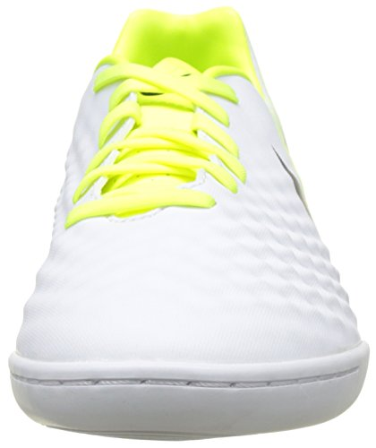 Nike Magista Onda Ii, Chaussures de Football Entrainement Homme Blanc (White/Black-Vert Volt-Pure Gris Platinum)