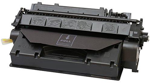 TONER EXPERTE CE505X Cartucho de Tóner Compatible para HP Laserjet P2050 P2053 P2054 P2055 P2056 P2057 D/DN/X (6500 páginas)