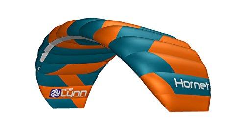 Lenkmatte Peter Lynn Hornet 5.0 mit Handles Allround-Lenkdrachen 4-Line Powerkite für Kitebuggy