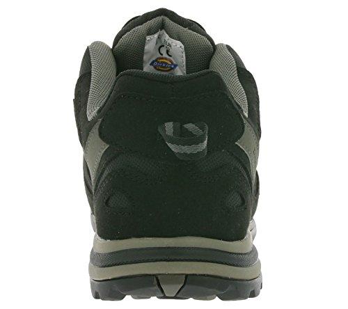 Dickies Tiber, Chaussures de sécurité Homme, Bleu, 45 EU Schwarz