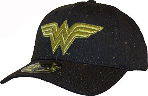 Wonder Woman Logo Gorra de beisbol Negro